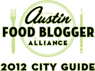 2012 Austin Food Blogger Favorites