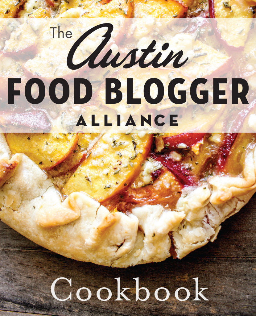 Austin Food Blogger Alliance Cookbook cover