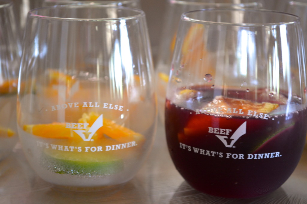Cheers with TBC Signature Sangria.