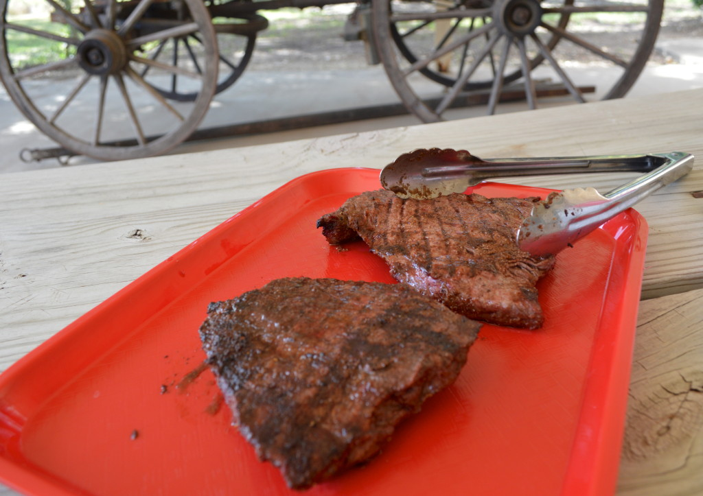 Grilled Texas Beef.
