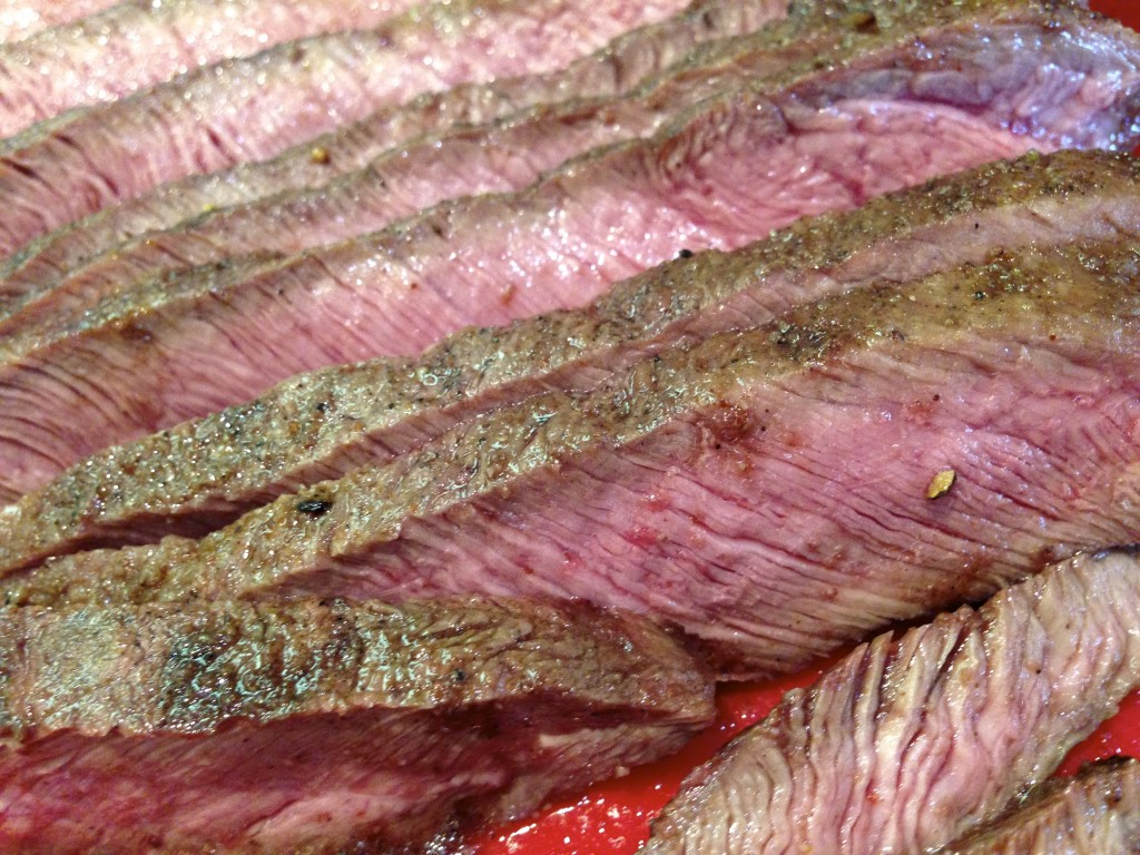 Perfectly Cooked & Sliced Texas Beef.