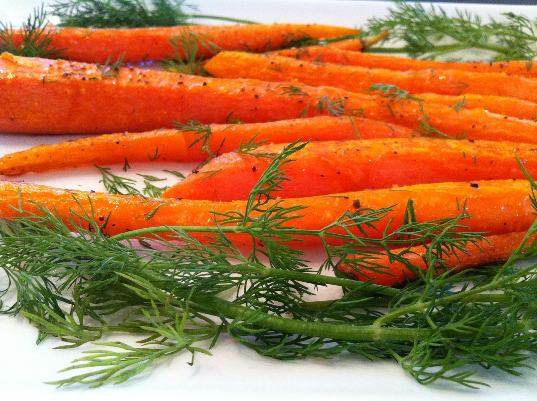 roasted carrots by forks up featured