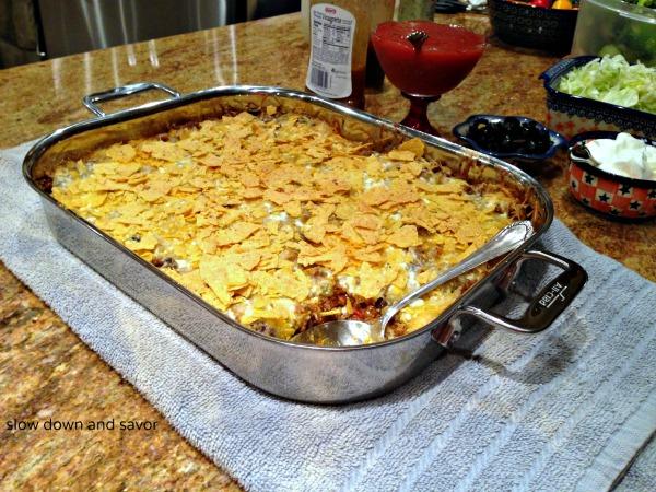 Mexican Lasagna (Slow Down and Savor)