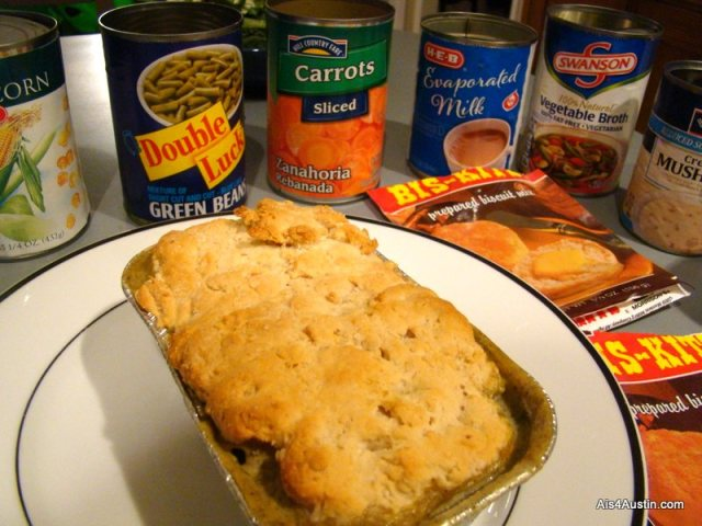 February Monthly Blog Challenge: Canned Food