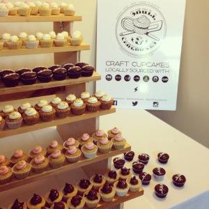 Skull & Cakebones cupcakes