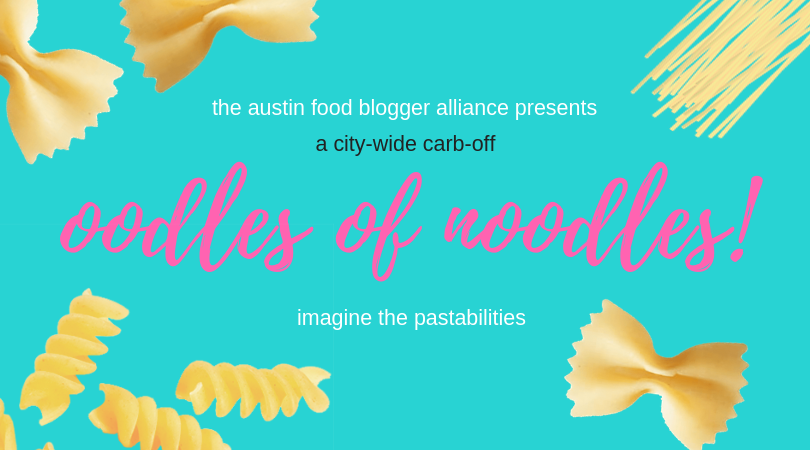 AFBA Presents the Oodles of Noodles Community Cookoff!