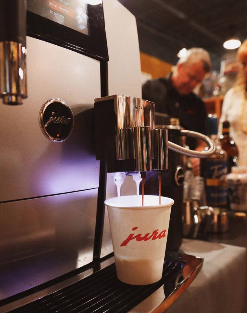 Faraday's JURA Coffee Experience
